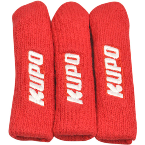 Kupo Stand Leg Protector (Set of 3) - Red