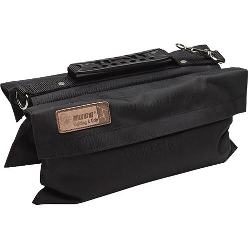 Kupo Touch-Fastener Empty Refillable Sandbag (13.2 lb, Black)