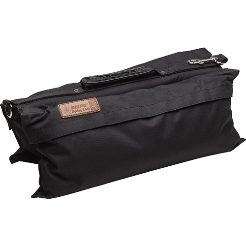 Kupo Touch-Fastener Empty Refillable Sandbag (22.4 lb, Black)