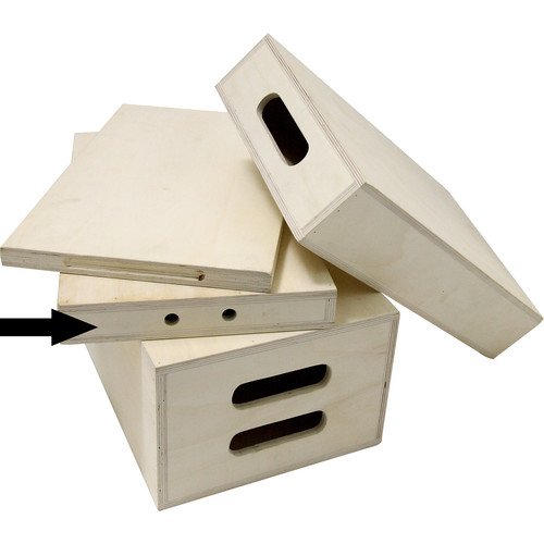 "Kupo Apple Box (Quarter, 20 x 12 x 2"")"