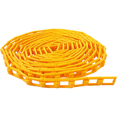 Kupo Plastic Background Driving Chain (Orange, 11.5')