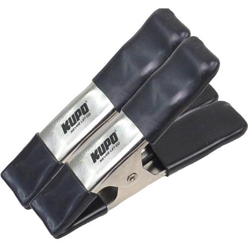 "Kupo Steel A Clamp (Black, 2-Pack, 6"")"