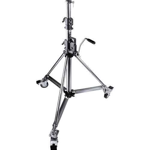 Kupo Heavy-Duty Wind-Up Low Base Steel Stand