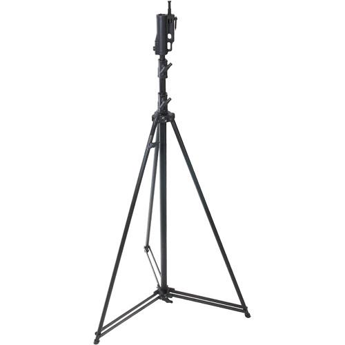 Kupo Tall Steel Light Stand (Black, 12.5')