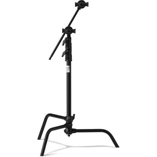"Kupo Master C-Stand with 20"" Riser and Sliding Leg Kit (Black, 6.5')"