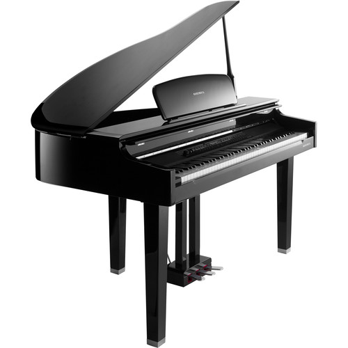 Kurzweil CGP220 German D Grand Piano (Ebony Polish)