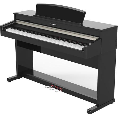 Kurzweil Andante CUP110 German Grand Piano (Black)