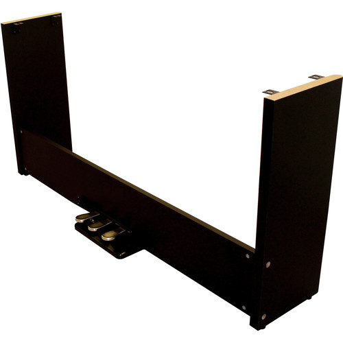 Kurzweil KAS3 Detachable Wooden Stand with Built-In Pedal Assembly for KA110 Digital Piano