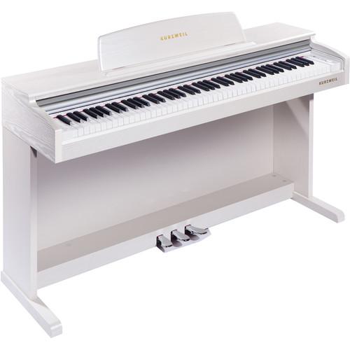 Kurzweil M210-WH Digital Piano (White)