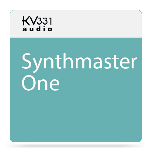 KV331 Audio SynthMaster One - Wavetable Synthesizer Plug-In (Download)