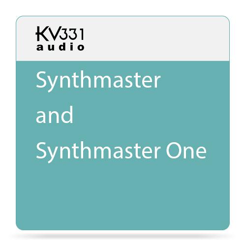 KV331 Audio SynthMaster 1 + 2 Bundle - Software Suite with SynthMaster One & SynthMaster 2.8
