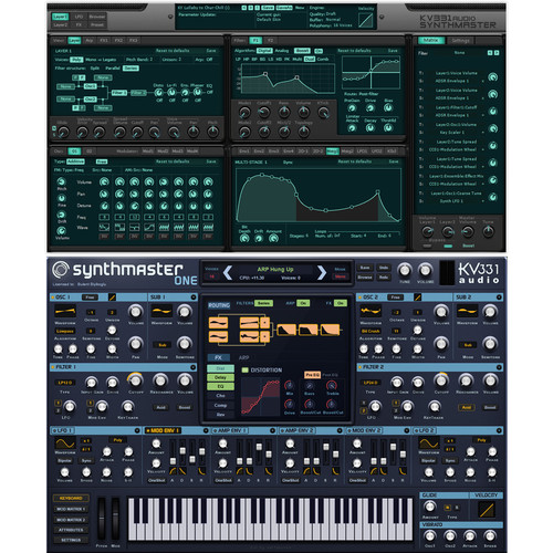 KV331 Audio SynthMaster 2.9 Everything Bundle Upgrade from SynthMaster Player - Synthesizer Plug-Ins with Expansion Banks (Download)