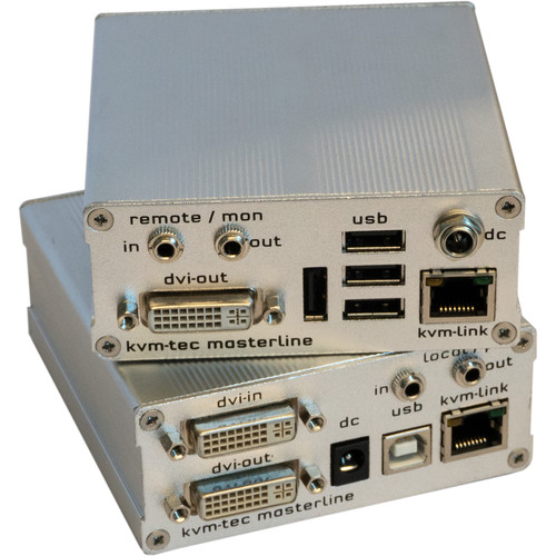 KVM-TEC MVX1 Masterline IP Extender Set