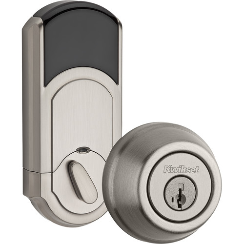 Kwikset Traditional Signature Series Deadbolt with Z-Wave (Nickel)