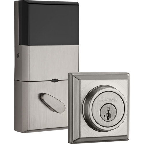 Kwikset Contemporary Signature Series Deadbolt with Z-Wave (Nickel)