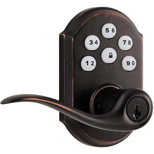 Kwikset SmartCode Lever Door Lock (Venetian Bronze Finish)