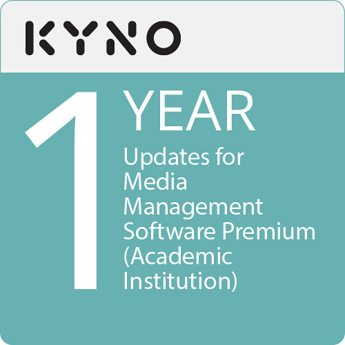 KYNO 1 Year of Updates for Media Management Software Premium (Academic Institution, Download)