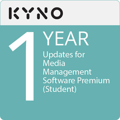 KYNO 1 Year of Updates for Media Management Software Premium (Student, Download)
