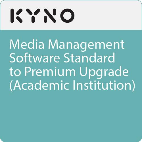 KYNO Media Management Software Standard to Premium Upgrade (Academic Institution, Download)
