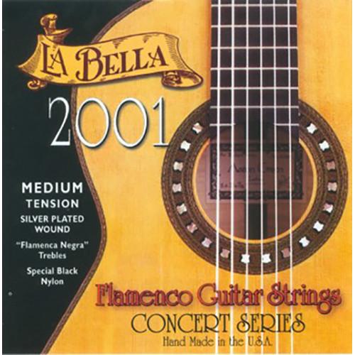 LABELLA 2001 Flamenco Medium Tension Classical Guitar Strings