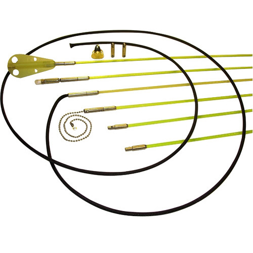 Labor Saving Devices RoyRods Pro Quick-Connect Wire-Running Rod Kit (36')