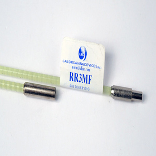 Labor Saving Devices RoyRods Luminous Fiberglass Rod with Quick-Connect Male / Female Connectors (3')