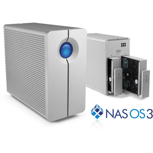 LaCie 8TB 2big NAS Server