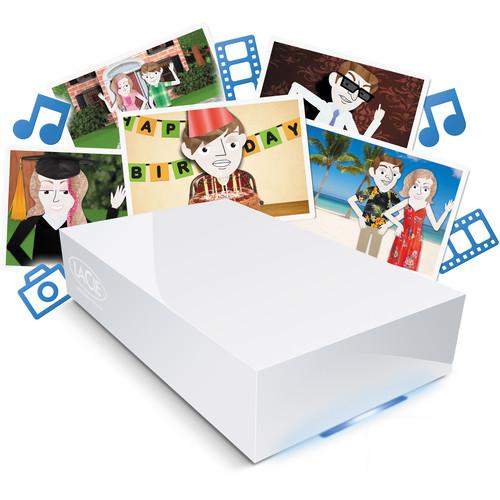 LaCie 4TB CloudBox Home Network Hard Drive