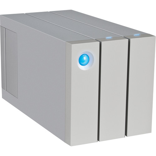 LaCie 2big 6TB 2-Bay Thunderbolt 2 RAID Array (2 x 3TB, Retail Packaging)