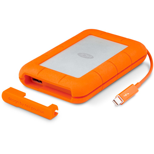 LaCie 2TB Rugged Thunderbolt Mobile HDD