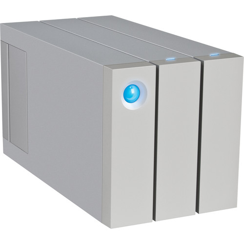 LaCie 2big 6TB 2-Bay Thunderbolt 2 RAID Array (2 x 3TB, Apple Packaging)