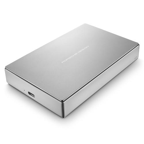 LaCie 5TB Porsche Design USB 3.0 Type-C Mobile Drive (Silver)