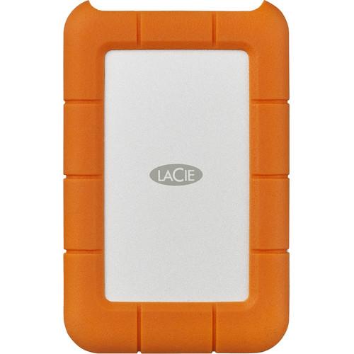 LaCie 2TB Rugged Secure USB Type-C Portable Hard Drive
