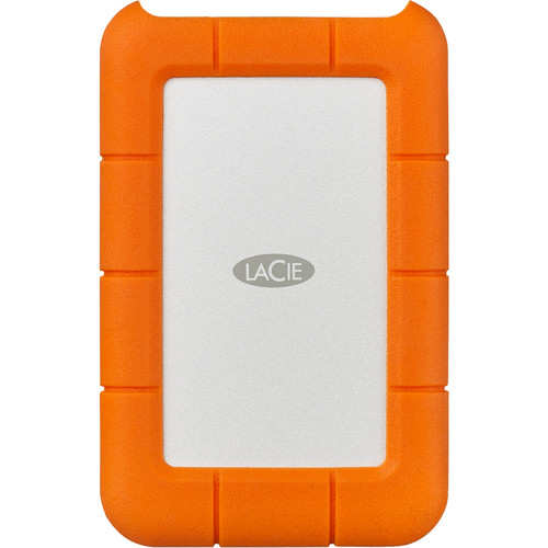 LaCie 5TB Rugged USB 3.0 Type-C External Hard Drive