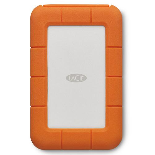 LaCie 2TB Rugged Mobile Hard Drive (Thunderbolt & USB 3.0 Type-C)