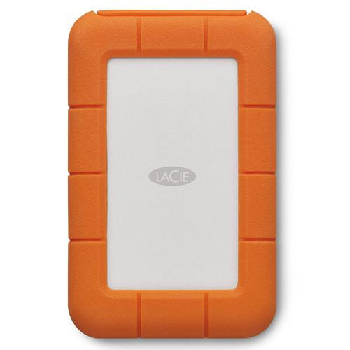 LaCie 4TB Rugged Mobile Hard Drive (Thunderbolt & USB 3.0 Type-C)