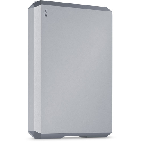 LaCie 4TB USB 3.1 Type-C Mobile Drive (Space Gray)