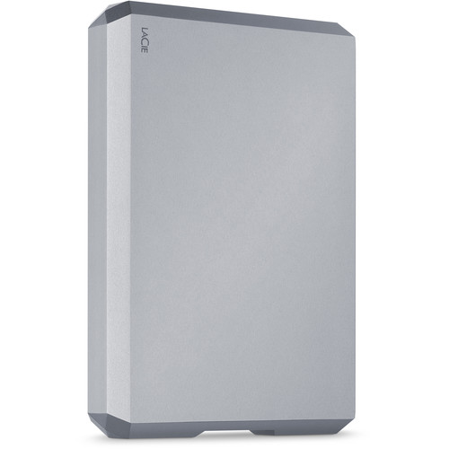 LaCie 5TB USB 3.1 Type-C Mobile Drive (Space Gray)