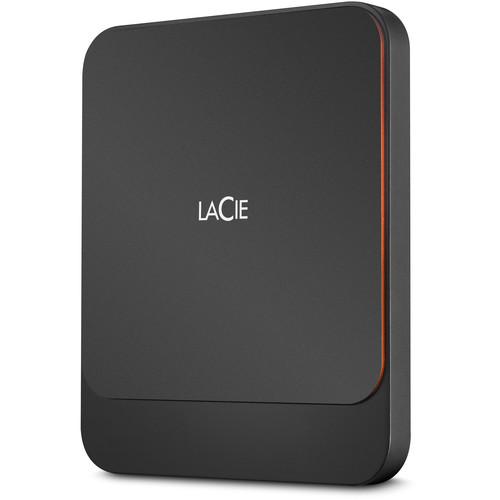LaCie 2TB Portable USB 3.1 Gen 2 Type-C External SSD