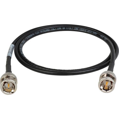 Laird Digital Cinema BNC to BNC 12G-SDI/4K UHD Single-Link RG59 Cable (6', Black)