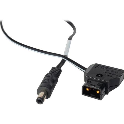 Laird Digital Cinema BlackMagic Design Power Cable - 2.5mm DC Plug to Anton Bauer P-TAP 1 ft