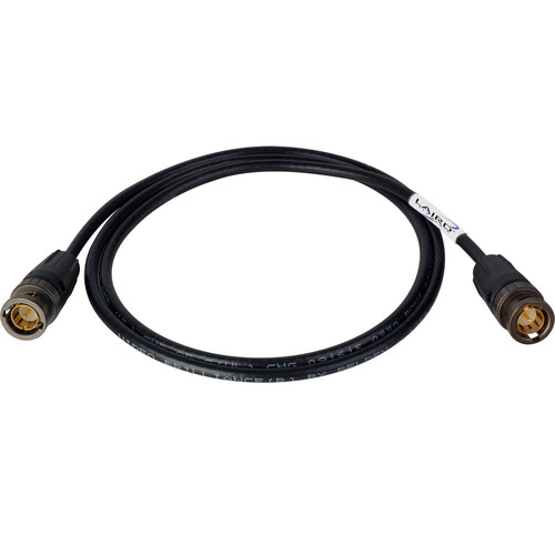 Laird Digital Cinema Cable with Neutrik rearTWIST BNC Connectors and Belden Mini RG59 1855A for 6G/2K Video Applications (3')