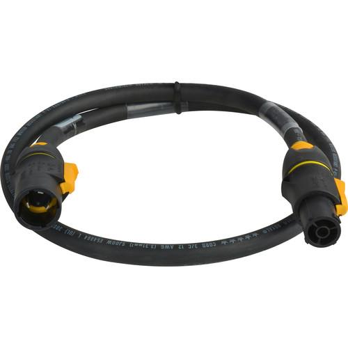 Laird Digital Cinema Neutrik TRUE1 powerCON Male to Female 20A AC Power Extension Cable (25')