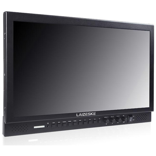 "Laizeske 17.3"" Full-HD Carry-On Broadcast Director Monitor with HDMI and 3G-SDI"