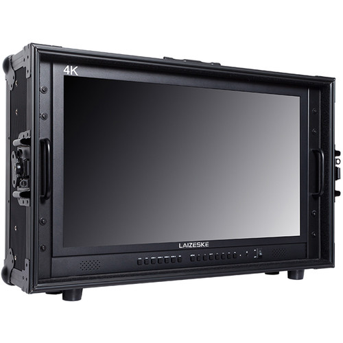 "Laizeske 23.8"" UHD 4K Carry-On Broadcast Director Monitor"