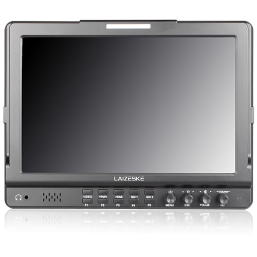 "Laizeske 10.1"" IPS 1280 x 800 Dual Switch 3G-SDI Camera-Top Monitor"