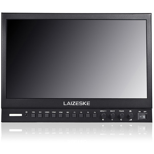 "Laizeske 13.3"" Full HD 3G-SDI/ HDMI IPS LED-Backlit Production Monitor"