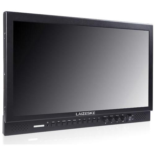 "Laizeske 17.3"" Aluminum Design 1920x1080 Pro Broadcast LCD Monitor with HDMI AV YPBPR"