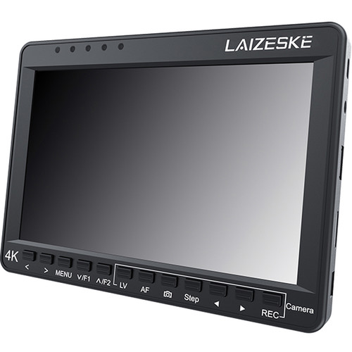 """Laizeske 7"""" 4K HDMI IPS Monitor with Canon DSLR Focus Control"""