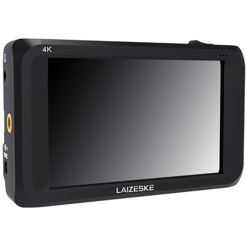 """Laizeske 4.5"""" IPS 4K HDMI 3G-SDI On-Camera Field Monitor 1280x800 Camera External LCD Monitor with Peaking Fo"""